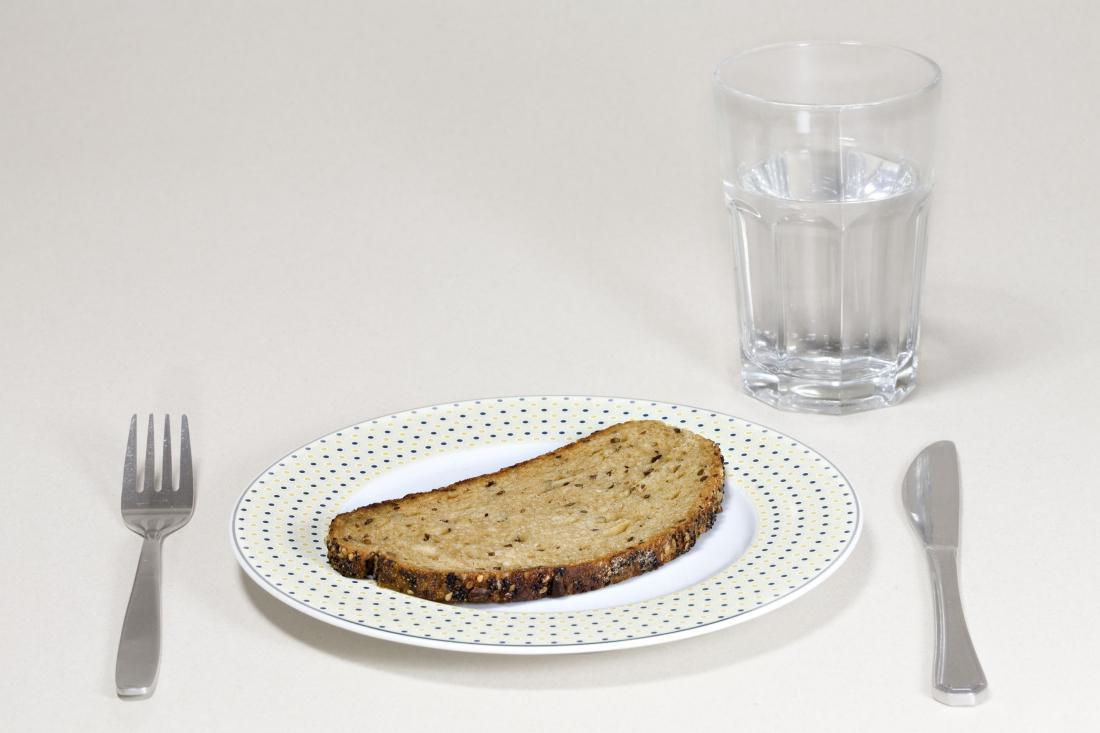 Диета хлеб соль вода фото