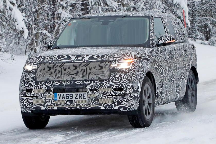 Новое пятое поколение: Land Rover начал тестировать люксовый внедорожник Range Rover