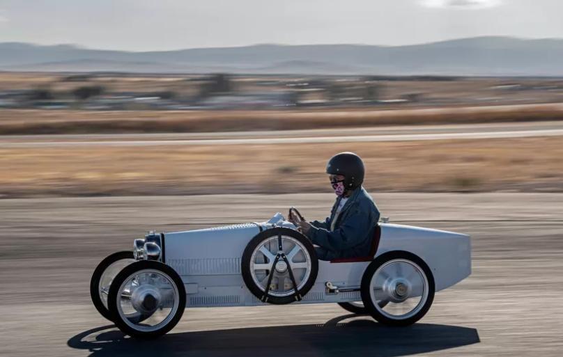 Обзор первого привода Bugatti Baby II: самое большое удовольствие, которое можно испытать на четырех колесах электрического гоночного автомобиля