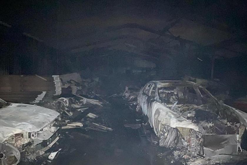 Восстановлению не подлежат: 80 экзотических автомобилей уничтожены в результате пожара в Великобритании