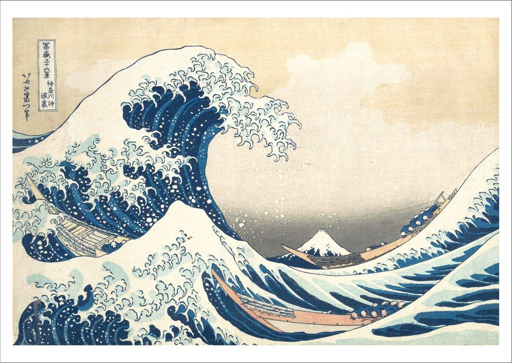 """Знаменитая гравюра Хокусая """"Большая волна у Канагавы"""" воссоздана с помощью 50 000 деталей LEGO (фото)"""