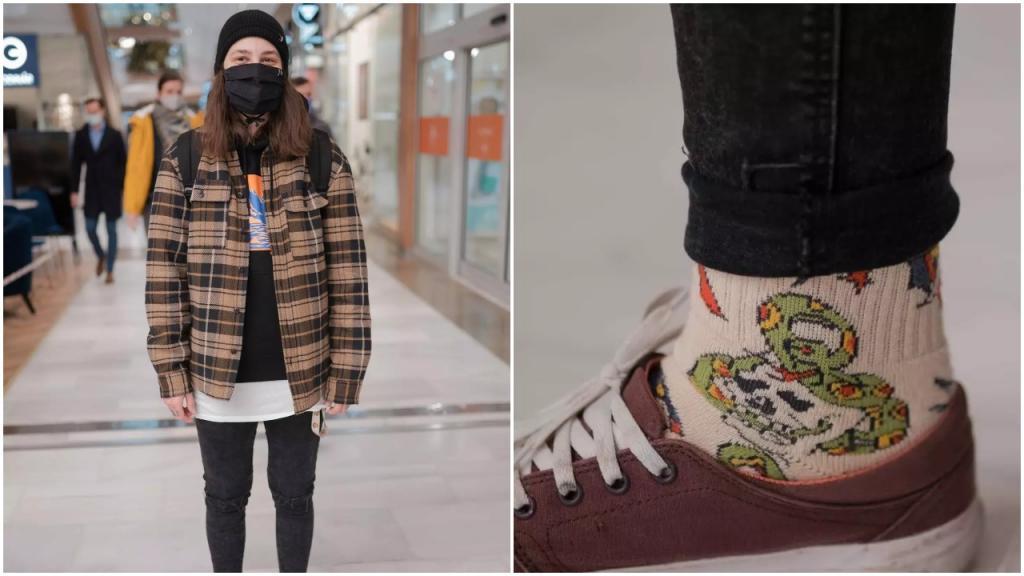 Streetstyle: как молодежь одевается в предрождественский период, и какую одежду девушки и парни хотели бы найти под елкой