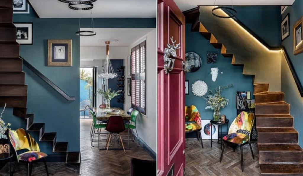 Дизайнер купил в Лондоне дом шириной в несколько метров, год делал в нем ремонт, а теперь продает: заглянем внутрь