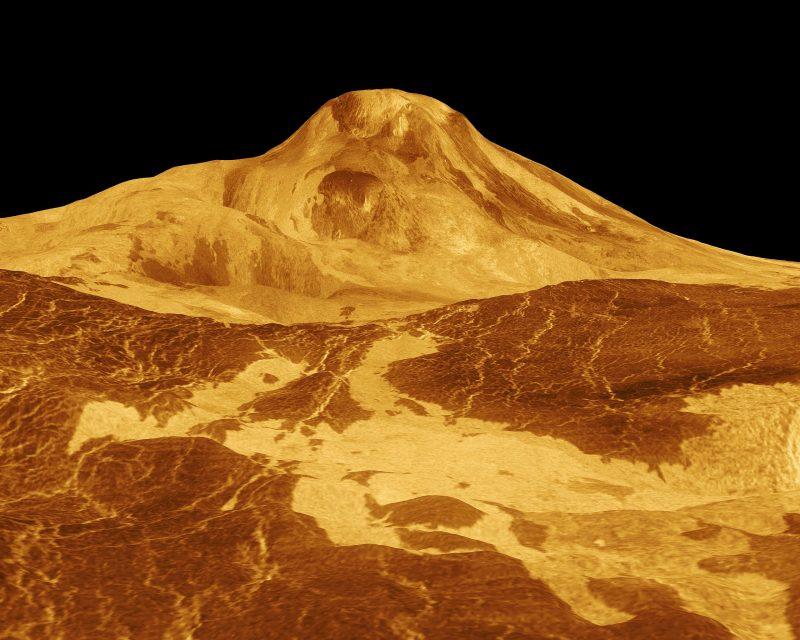 Венера все еще может быть вулканически активной: так предполагают ученые