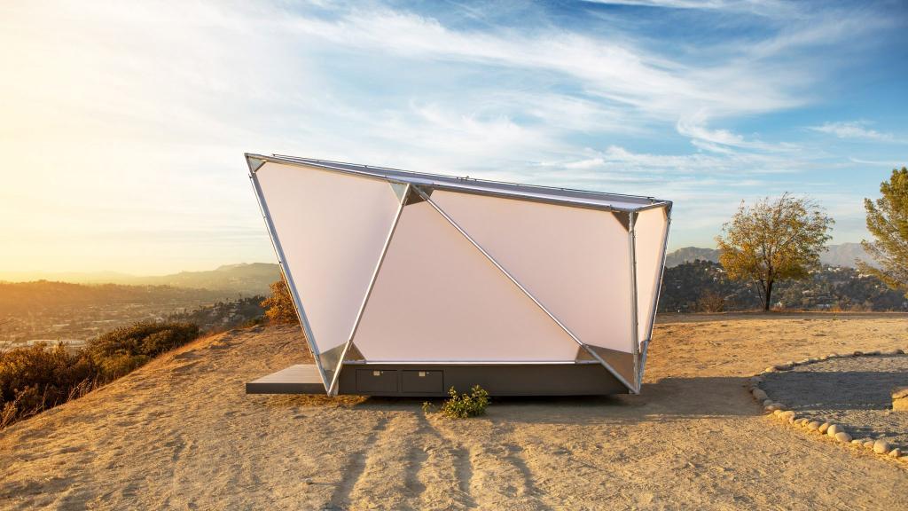 Глэмпинг будущего: американская компания спроектировала альтернативу традиционной палатке. Как она выглядит
