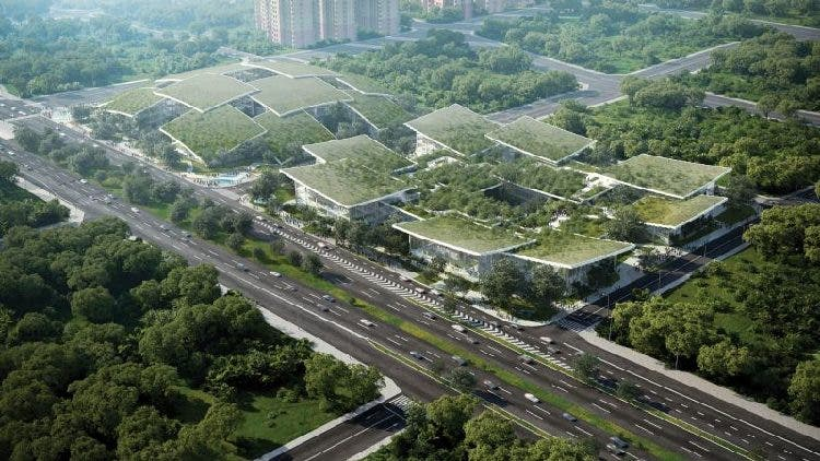 Строительство в Китае города, управляемого искусственным интеллектом, вызывает споры