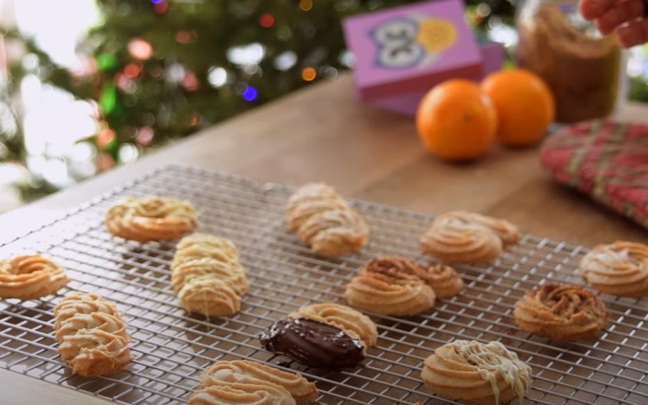 Рождественское печенье с апельсином и корицей: идеально к чаю