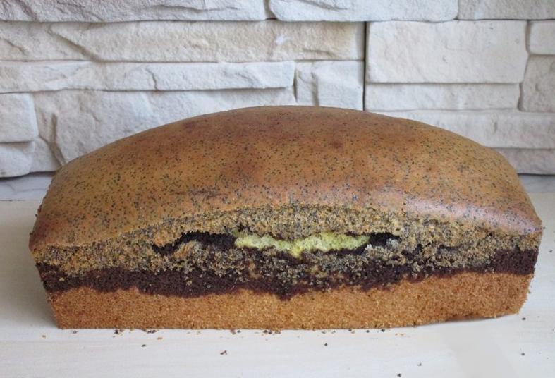 """Кекс """"Трио"""": сочетание нежного бисквита, какао и мака понравится и детям, и взрослым"""