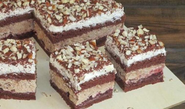 """Влажный бисквитно-шоколадный торт """"Ночка"""" – десерт, который придется по вкусу даже привередливому гурману. Рецепт"""