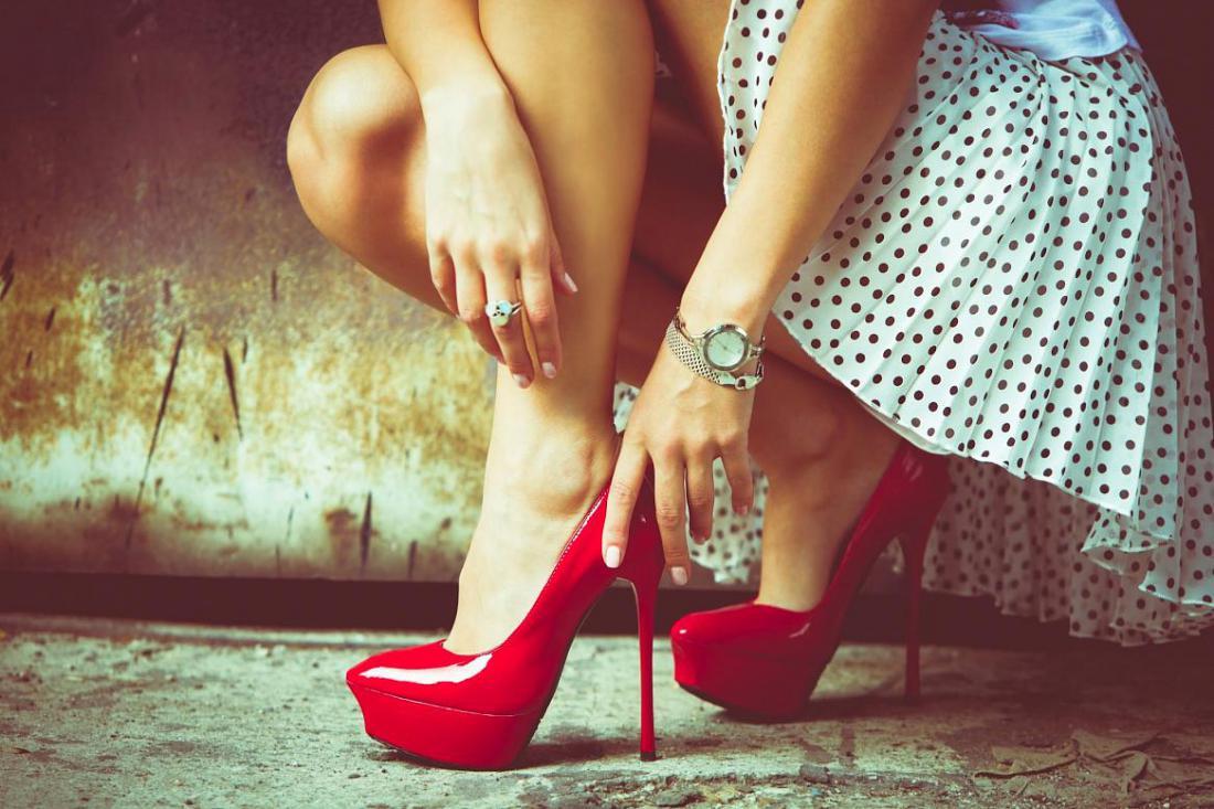 Культура фетиша женских ног