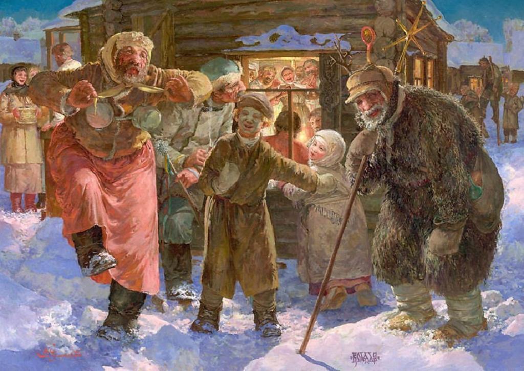 Хозяйки просто готовили нечетное количество блюд, а не 12, как сегодня: как отмечали Рождество в старину (некоторые традиции уже забыты)