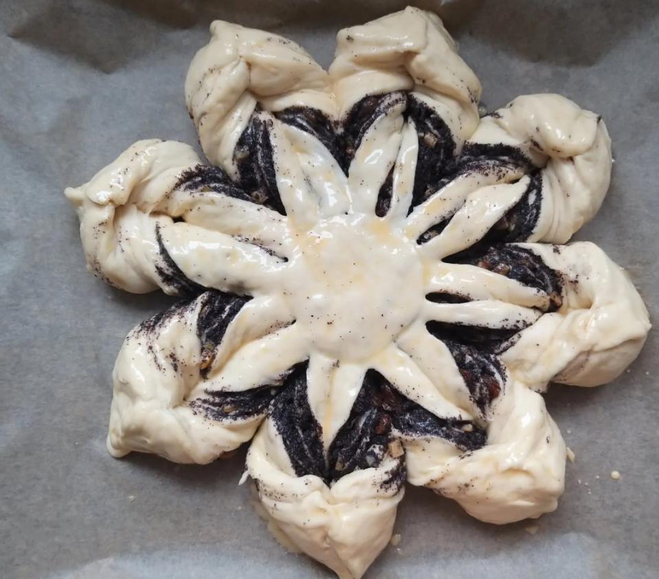 """""""Маковая звезда"""" - пирог, который я пеку на каждое Рождество. Идеально подходит для этого светлого праздника"""