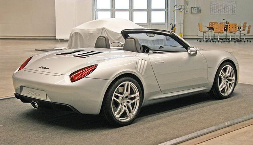 Porsche 550one: дизайнер де Сильва представляет невиданный ранее современный автомобиль