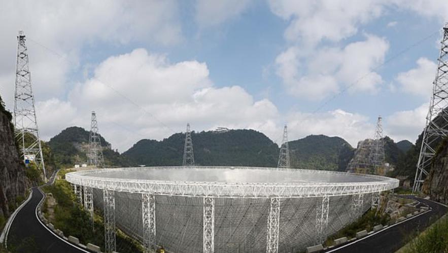 Китай разрешил иностранным астрономам использовать свой 487-метровый радиотелескоп для поиска инопланетной жизни и изучения космических явлений после поломки обсерватории Аресибо