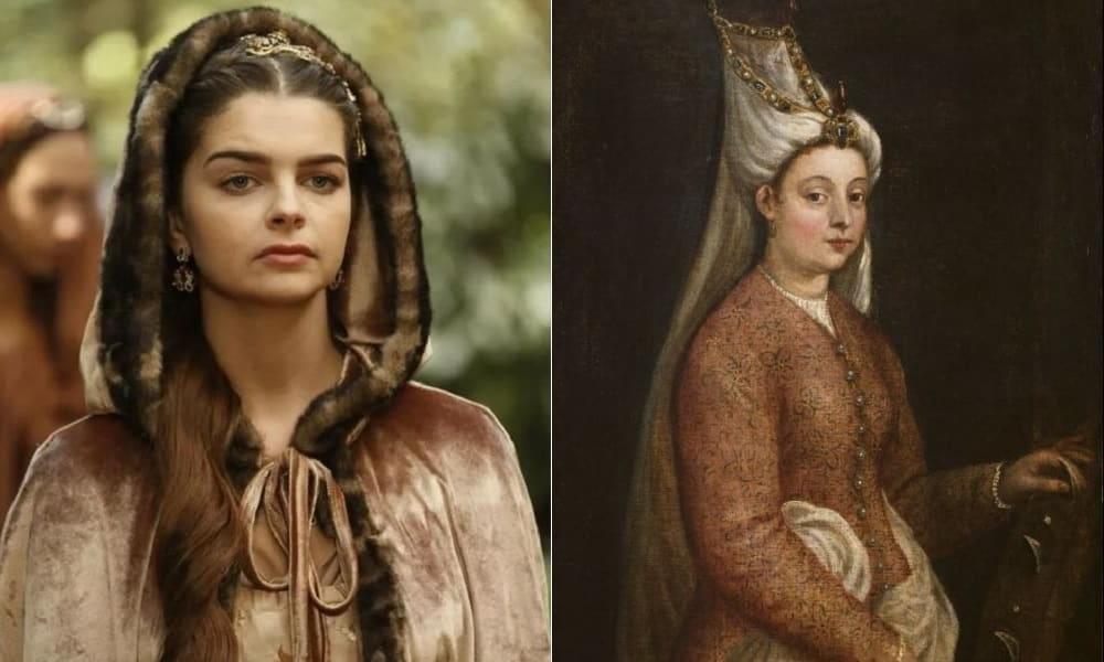 Настоящее Солнце и Луна: женщина, которую султан Сулейман любил доже больше, чем Хюррем (и во многом прислушивался к ней). Как она выглядела в реальной жизни