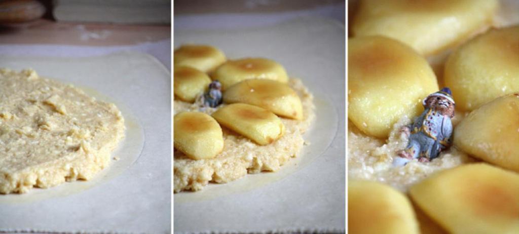 Нежнейшая начинка и потрясающий аромат: готовлю к чаю домашний пирог с яблоками, ромом и миндалем