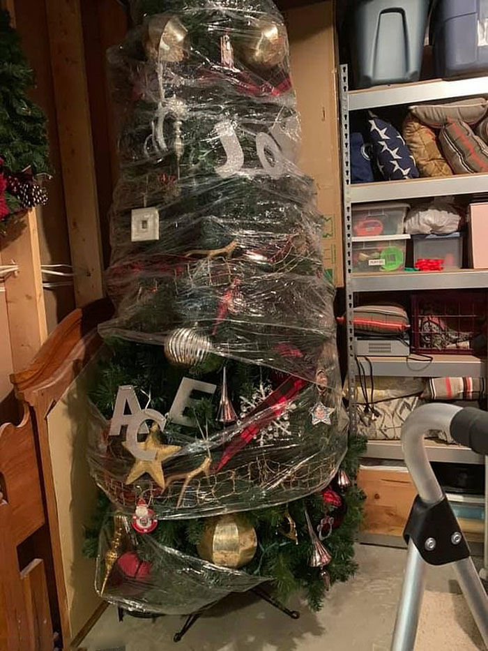 Как избавить себя от необходимости убирать елку: гениальный способ «ленивой» мамы