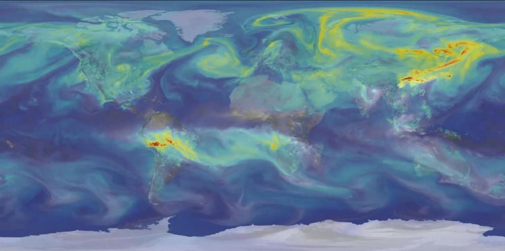 Концентрация CO₂ в атмосфере в 2021 году превысит доиндустриальный уровень более чем на 50 %