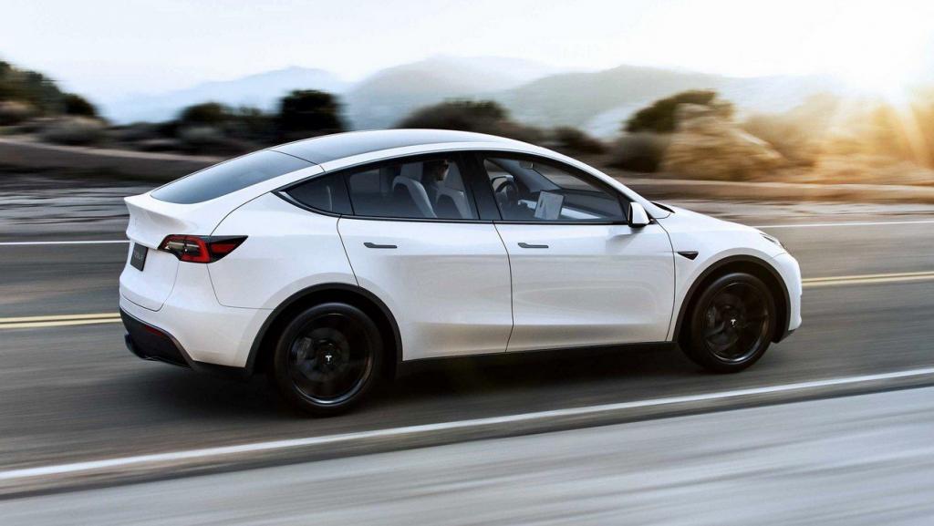 Бюджетная версия Tesla Model Y <span id=