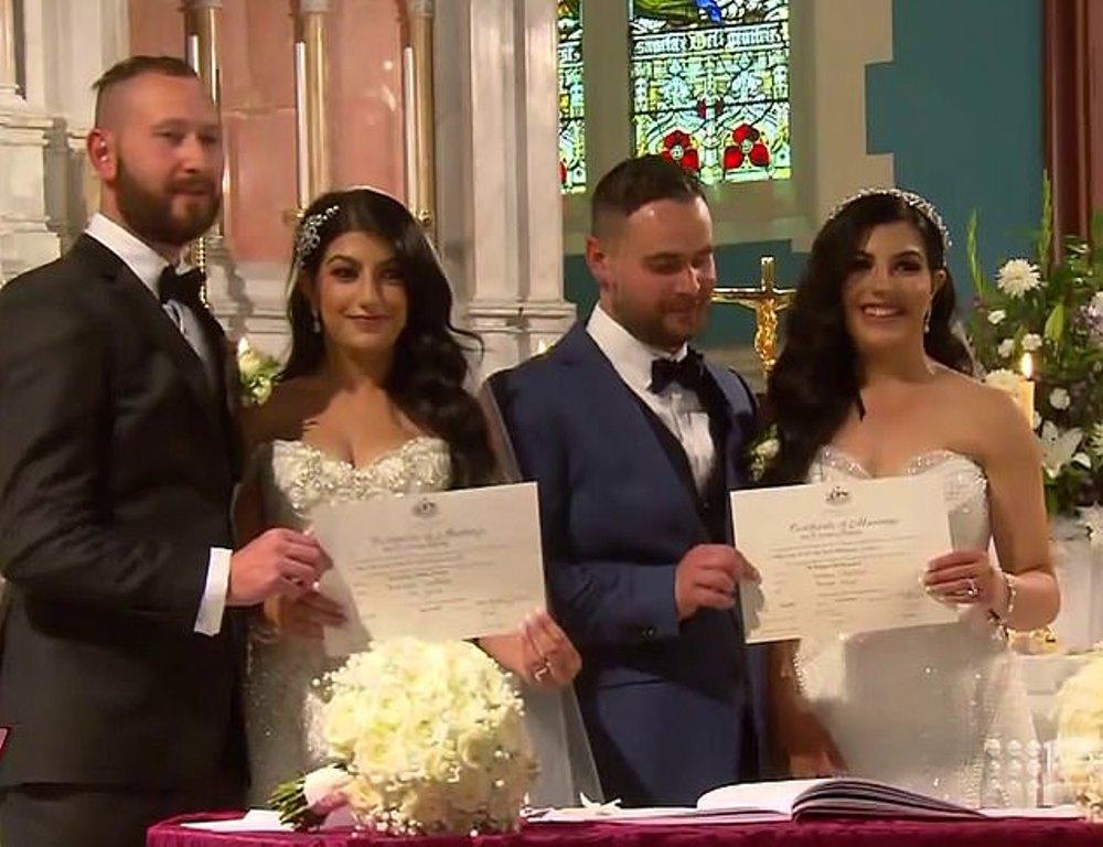 Сыграли свадьбу в один день: две сестры вышли замуж за двух братьев