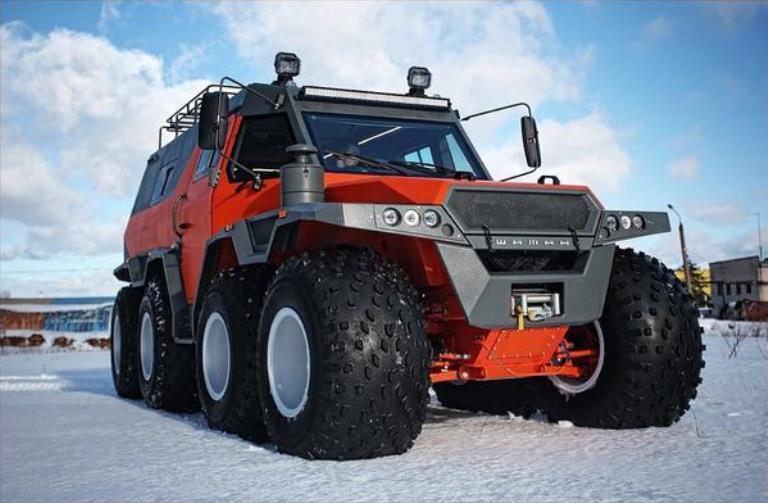 """Снегоуборочные машины, которые вас удивят: по сравнению с некоторыми из них Hammer выглядит """"милым зайчиком"""""""