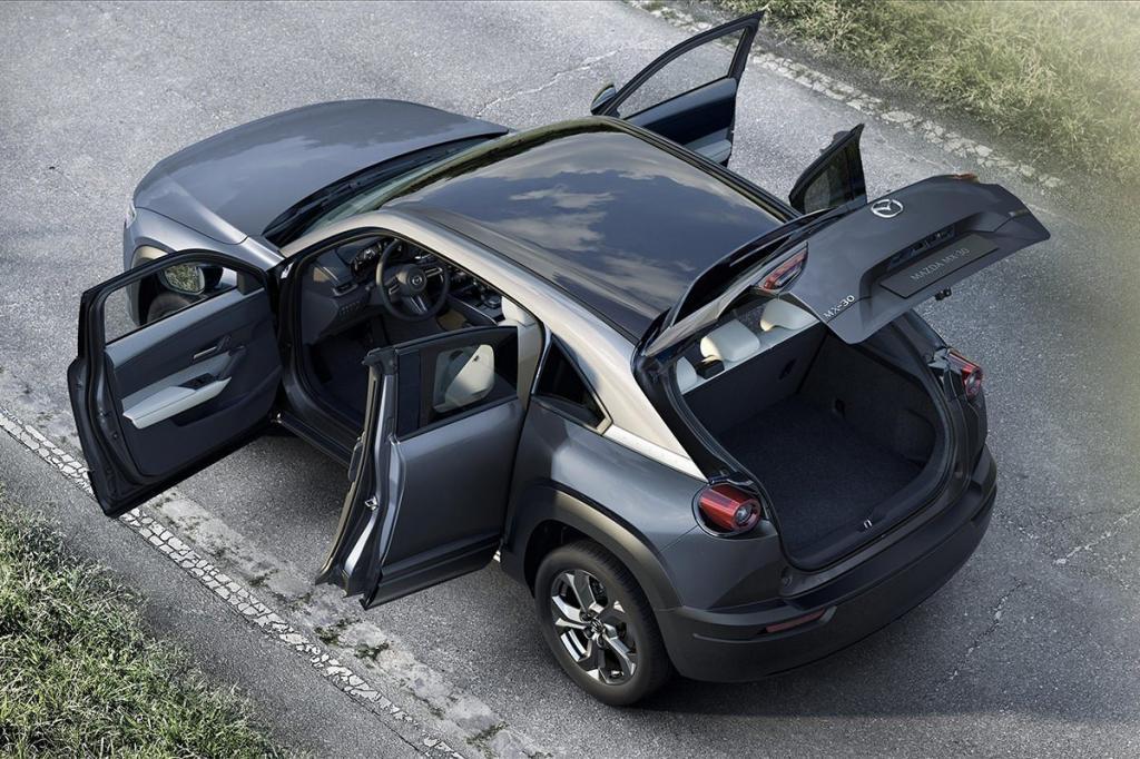 Mazda официально объявила об использовании в своих кроссоверах MX-30 роторного двигателя: запас хода будет удвоен