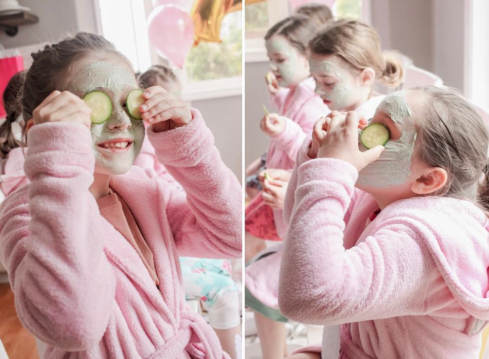 Семилетняя девочка попросила маму провести день рождения в спа. Женщина придумала альтернативный и более бюджетный вариант