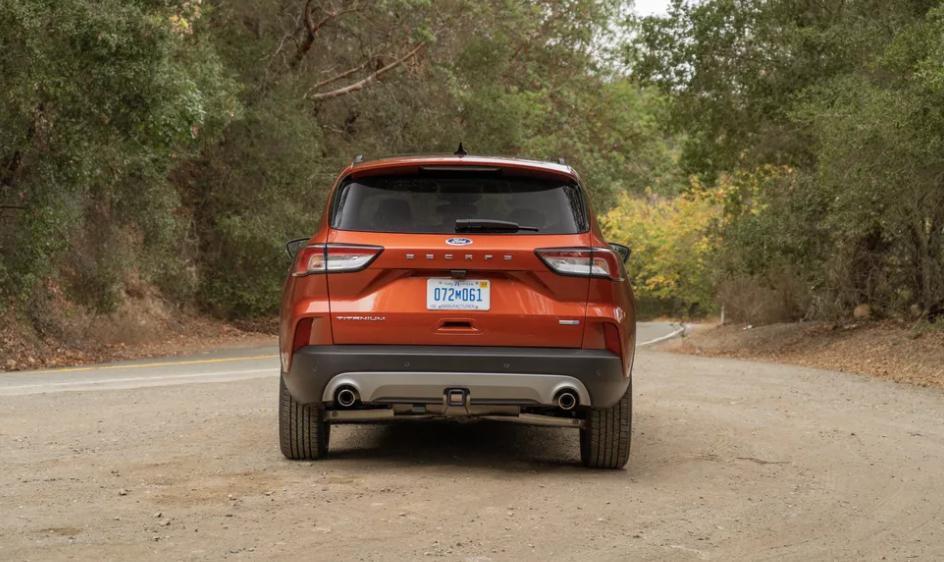 Ford Escape 2021 года: стильный внедорожник с 3-цилиндровым двигателем с турбонаддувом