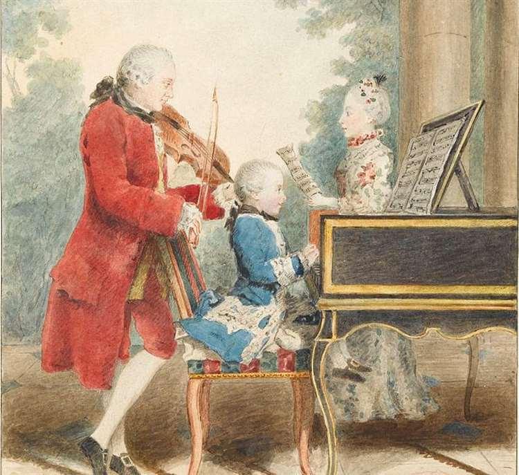 В 1762 году шестилетний Моцарт отправился в европейское турне, и билет на его концерт стоил 12,81 £