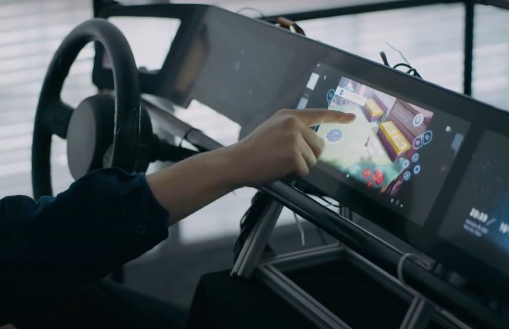 Sony показала свой электрокар Vision-S в действии на международной выставке CES 2021