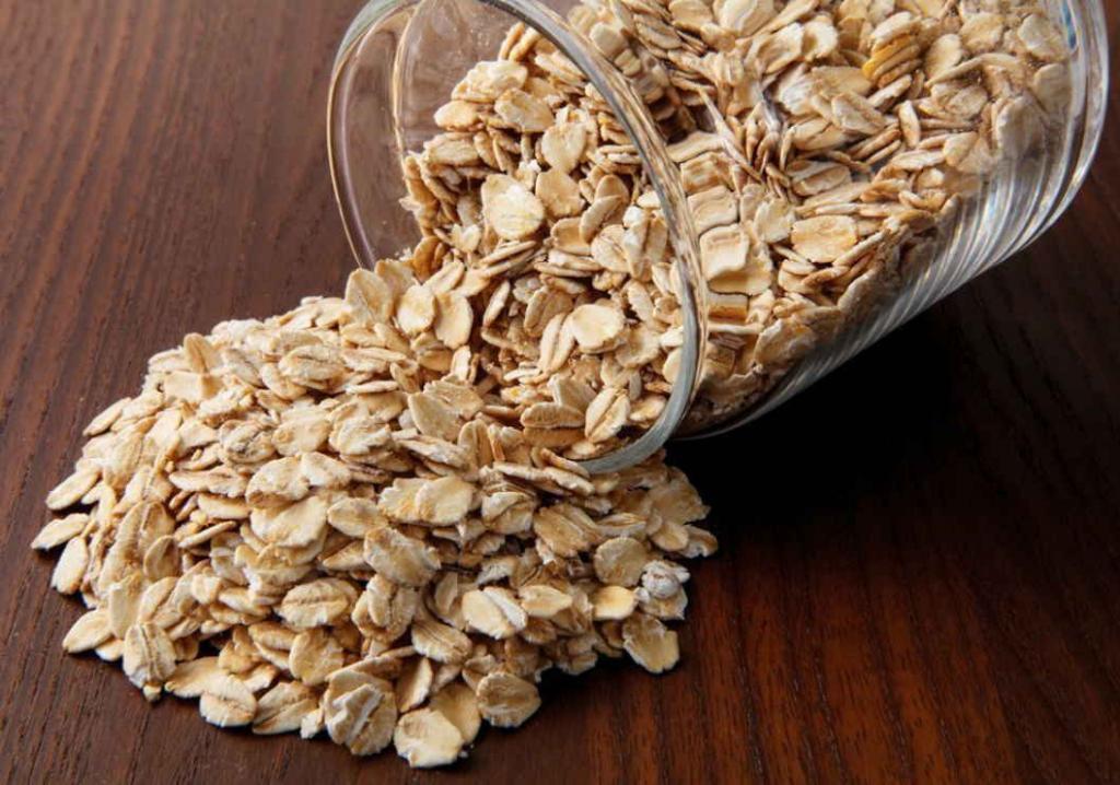 Рецепт скраба для кишечника из овсянки и орехов
