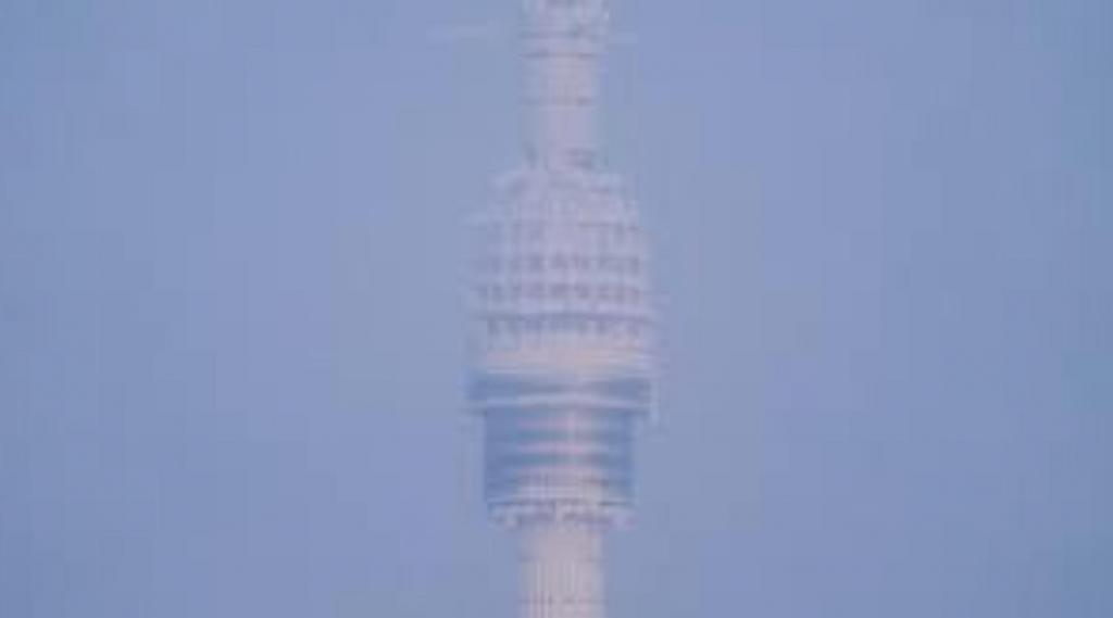 Из-за аномальных морозов в столице заледенела Останкинская башня: фото