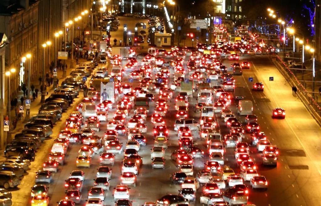 Москва стала лидером по уровню пробок среди 416 городов 57 стран мира