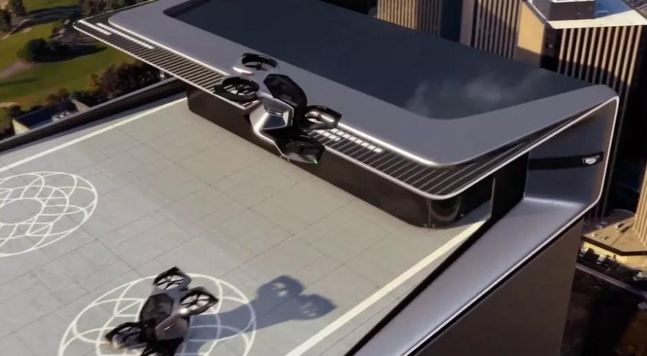 General Motors представила концепт воздушного такси Cadillac eVTOL на выставке CES 2021