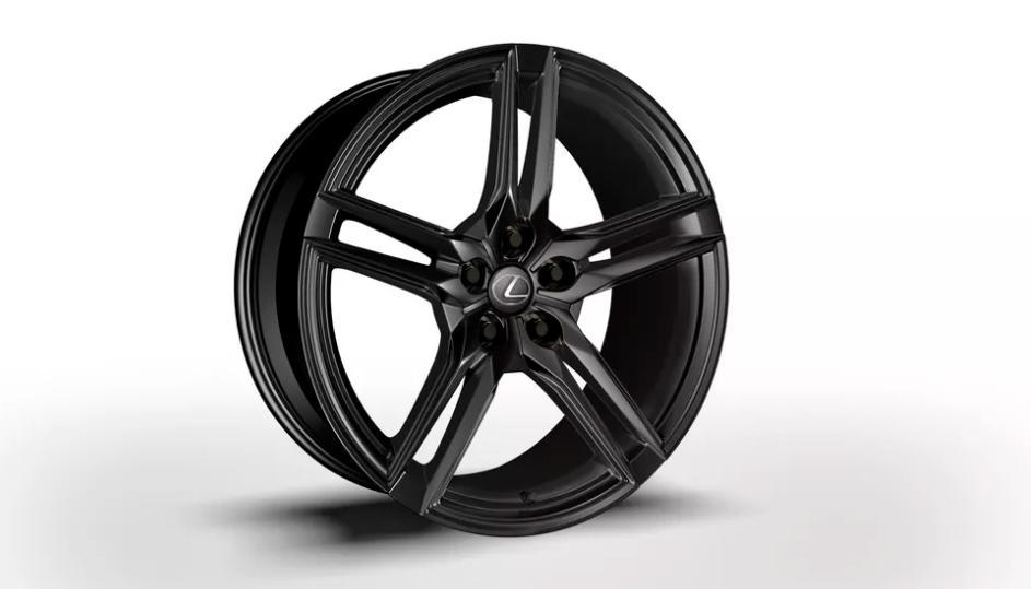 Lexus LC 500 Inspiration Series 2021 года: всего 100 экземпляров по всему миру в красивом черном цвете Obsidian