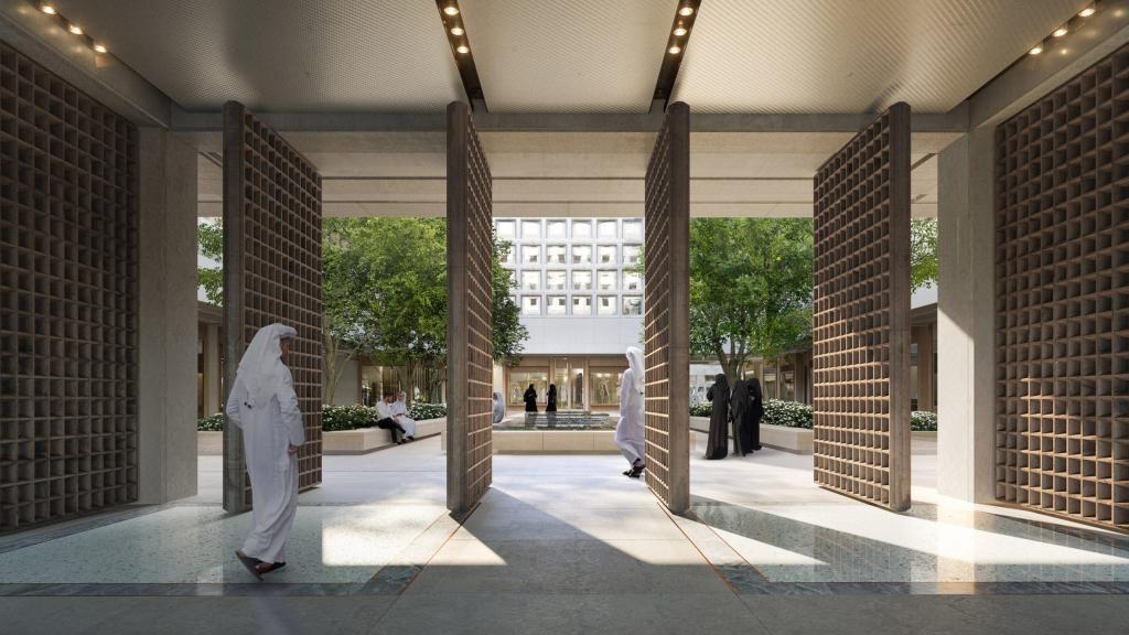 """В Катаре хотят построить 4 небоскреба и """"обернуть"""" их в алюминий: фото проекта"""