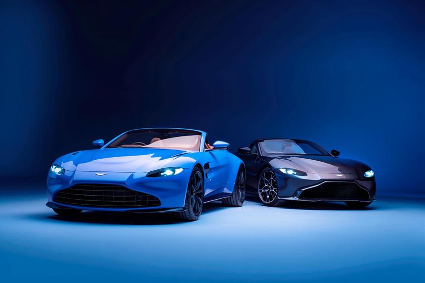 Более дружелюбный вид: Aston Martin предлагает на выбор несколько решеток радиатора для нового Vantage