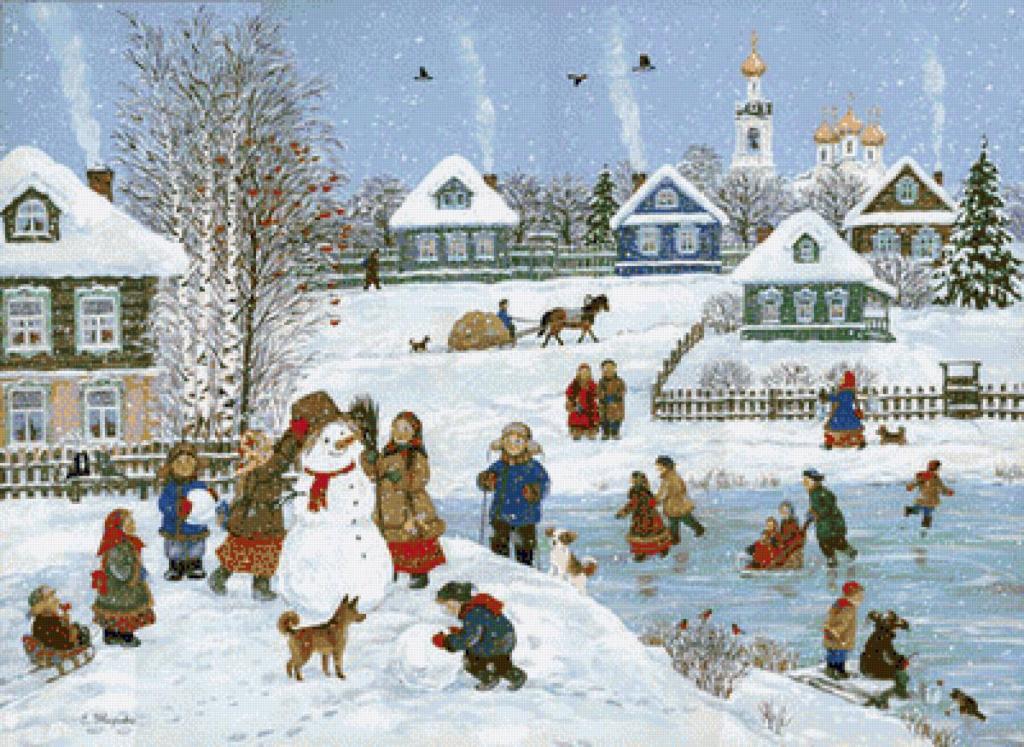 Снежные бабы и снеговики на Руси: защитники от злых духов и исполнители желаний