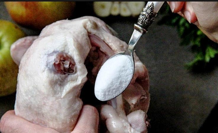 Наконец научилась делать вкусную и нежную утку с яблоками. Секрет простой - надо добавить еще и апельсины