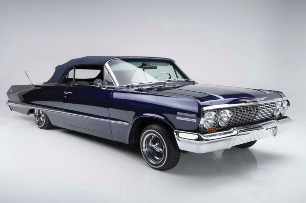 57-летний Chevrolet Impala знаменитого баскетболиста Коби Брайанта оценили в шестизначную сумму