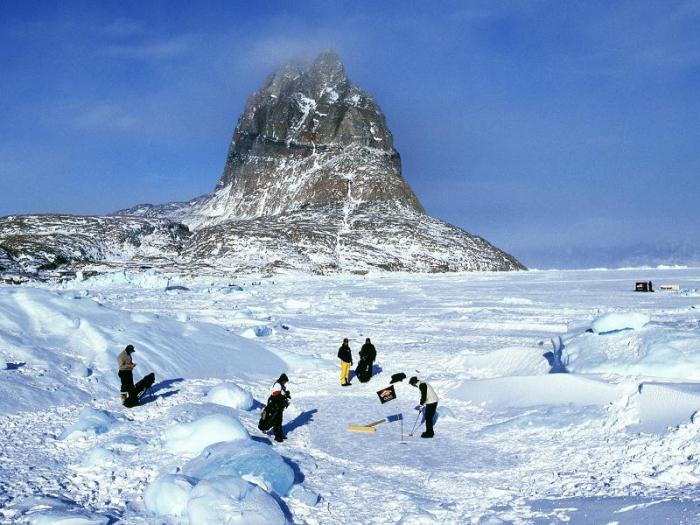 Гольф в Гренландии