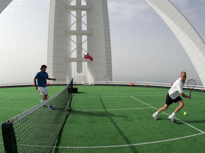 тенис в Дубае