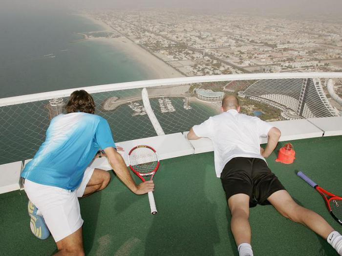 площадка для тенниса