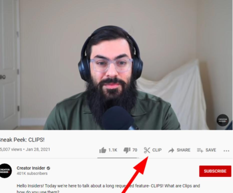 """Новая функция YouTube """"Клипы"""" позволяет пользователям делиться 60-секундными видеороликами"""