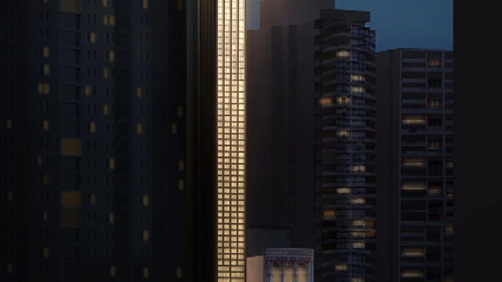 В Сиднее построят самый узкий небоскреб в мире, не шире обычной террасы, и в 100 метров высотой