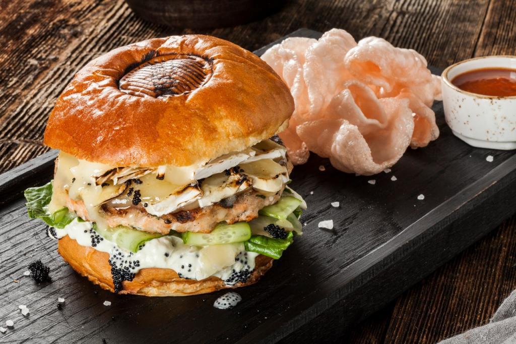 Классический вариант бургера отменяется: готовим бургер с креветками (японский вариант)
