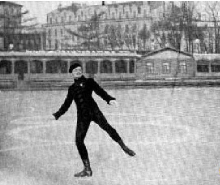 Участвовало всего 4 человека! В Юсуповском саду в Петербурге 9 февраля 1896 года состоялся первый в истории чемпионат мира по фигурному катанию