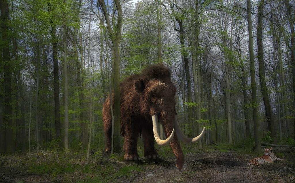 Кости мамонта и гигантского оленя, живших 10000 лет назад, обнаружили в уральской пещере