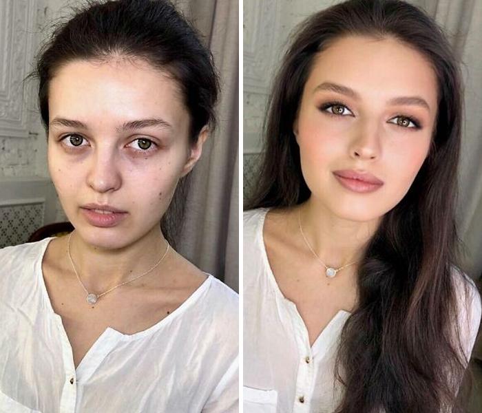 Удивительные преображения женщин, которые получили «голливудский» макияж от талантливого визажиста: фото до и после