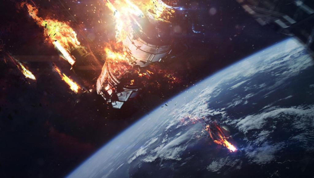 Как над Россией столкнулись спутники 12 лет назад
